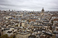 Paris-Skyline Stockbild