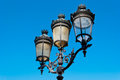 Paris street lamp detail Royalty Free Stock Photo