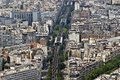 Paris from top Royalty Free Stock Image