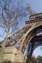 Paris tour Eiffel Royalty Free Stock Photo