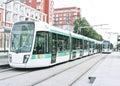 Paris Tramway, France Royalty Free Stock Photo