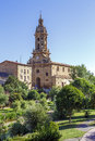 Parish church of san miguel in cuzcurrita la rioja spain Stock Image