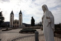 The parish church of St. James, the shrine of Our Lady of Medugorje Royalty Free Stock Photo