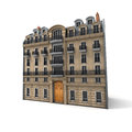 Parisian building Royalty Free Stock Photography