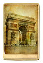 Parisian cards Royalty Free Stock Photos