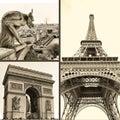 Parisian pictures Stock Photos