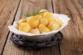 Parisian potatoes (Pommes Parisienne) Royalty Free Stock Photo