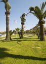 Park Antibes France French Riviera Stock Photo