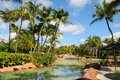 Park in the Atlantis Paradise Island Royalty Free Stock Photo