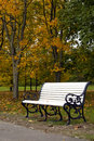 Park bench Royalty Free Stock Photos