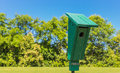 Park Bird Shelter Royalty Free Stock Photo