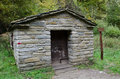 Park of casentino forests shelter ca del rospo Stock Photos