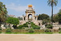 Park of Ciutadella Royalty Free Stock Images