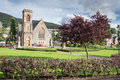 Park in Fort William, Scotland Royalty Free Stock Photo