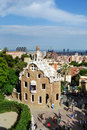 Park guell barcelona spain june the famous in barcelona spain Royalty Free Stock Photography