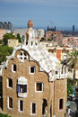 Park guell barcelona spain june the famous in barcelona spain Royalty Free Stock Image