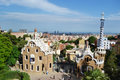 Park guell barcelona spain june the famous in barcelona spain Stock Photography