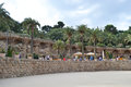 Park guell barcelona spain june the famous in barcelona spain Stock Image