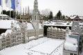 Park mini europe in brussel belgium Stock Image