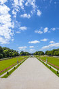 Park in nymphenburg castle munich Stock Photography