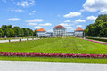 Park in nymphenburg castle munich Royalty Free Stock Image