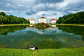 Park in nymphenburg castle munich germany Royalty Free Stock Photography
