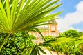 Park and Palace Euxinograd or Evksinograd. Varna, Bulgaria Royalty Free Stock Photo