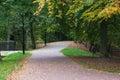 Park pathway Royalty Free Stock Photo