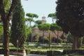 Park in Rome, Italy Villa Borghese