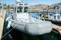 Park service patrol boats lake meade national recreation area arizona april national are ready and waiting for summer visitors to Stock Photography