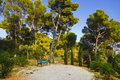 Park at Split, Croatia Stock Photography