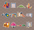 Park stickers Royalty Free Stock Photography