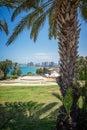 Park in Tel-Aviv Royalty Free Stock Photo