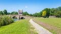 Park Trail and Bridge Royalty Free Stock Photo
