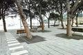 Park in a village near la spezia Stock Photos