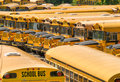 Parked School bus - Buses Royalty Free Stock Photo