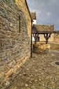 Parkes castle courtyard Royalty Free Stock Images