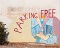 Parking Free Royalty Free Stock Photo