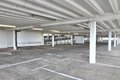 Parking garage multi storey car park interior generic in england Royalty Free Stock Image