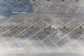 Parking lot empty background texture Royalty Free Stock Photos