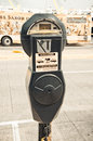 Parking Meter Royalty Free Stock Photo