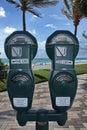 Parking Meters Royalty Free Stock Photo