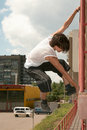 Parkour Royalty Free Stock Images