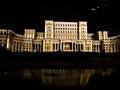 Parlamentsgebäudebeleuchtung Lizenzfreie Stockbilder