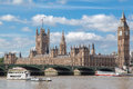 Parliament Building and Big Ben London England Stock Photography