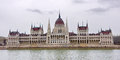 Parliament building in budapest horizontal photo Stock Images