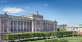 The parliament building in stockholm sweden as seen from royal castle Royalty Free Stock Photo