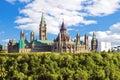 Parliament Hill, Ottawa, Canada Royalty Free Stock Photo
