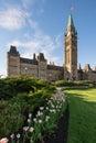 Parliament Hill of Ottawa, Canada Royalty Free Stock Photo