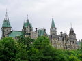 Parliament ottawa canada close up on in Royalty Free Stock Photos